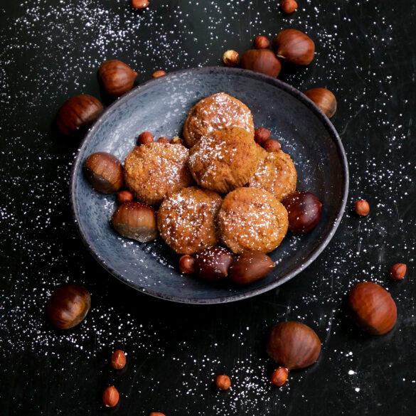 Kastanienmuffins Hexenkueche